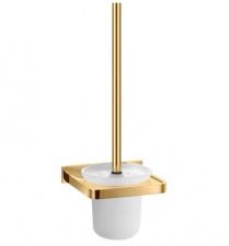 Aukso spalvos WC šepetys OMNIRES DARLING