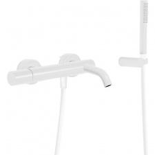 Virštinkinis maišytuvas dušui ir voniai Tres Study Exclusive, baltas