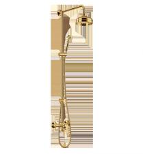 Комплект для душа OMNIRES ART DECO золотого цвета