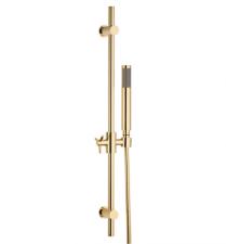 Aukso spalvos dušo komplektas OMNIRES MODERN