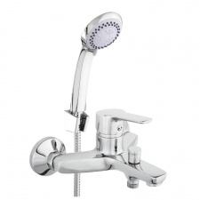 Sieninis vonios maišytuvas Rubineta Uno-10/K