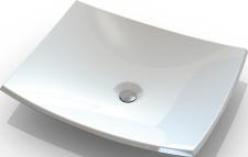 Akmens masės pastatomas praustuvas Blu NORMA 500