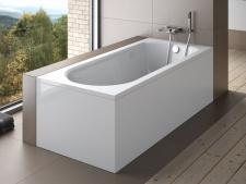 Stačiakampė akrilinė vonia Besco INTRICA