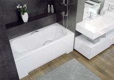 Stačiakampė akrilinė vonia Besco ARIA PLUS