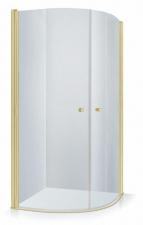 Душевая кабина Baltijos Brasta KATARINA профиль золотого цвета