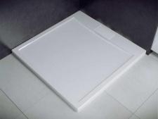 Akrilinis dušo padėklas Besco Axim UltraSlim square