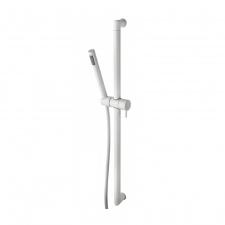 Белый душевой комплект: стойка с ручным душем Bossini D74 — ZEN