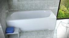 Stačiakampė akrilinė vonia Besco BONA