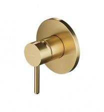 Potinkinis maišytuvas dušui OMNIRES Y1245GLB, šlifuoto aukso spalvos