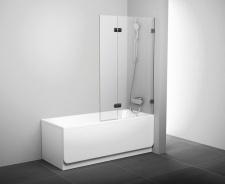 Stačiakampių vonių sienelė Ravak BVS2