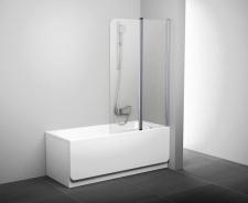 Stačiakampių vonių sienelė Ravak CVS2