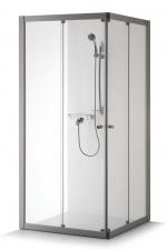 Kvadratinė dušo kabina Baltijos Brasta RASA