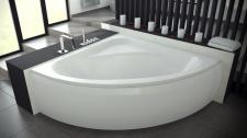 Угловая акриловая ванна Besco LUKSJA
