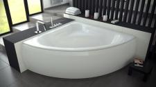 Угловая акриловая ванна Besco MIA