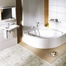 Kampinė akrilinė vonia Ravak NewDay