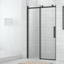 Dušo durys į nišą Project Line OBZD2, juodu profiliu