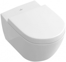Villeroy&boch Subway 2.0 pakabinamas baltas su Soft-Close dangčiu Villeroy & Boch