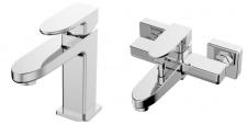 Praustuvo ir vonios maišytuvo komplektas Siena Omnires