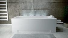 Stačiakampė akrilinė vonia Besco MODERN 160x70