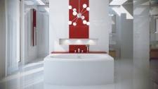 Stačiakampė akrilinė vonia Besco TELMENA