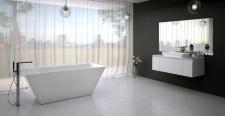 Akmens masės vonia Vispool Quadro 175
