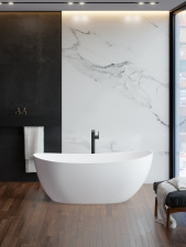 Akmens masės vonia Blu CYGNUS II