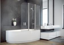 Стенка для ванны Besco Ambition 3 130