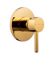 Potinkinis maišytuvas dušui OMNIRES Y, aukso spalvos