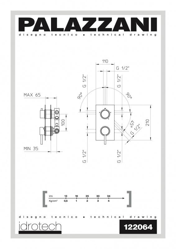 Potinkinis maišytuvas Idrotech 2, Palazzani
