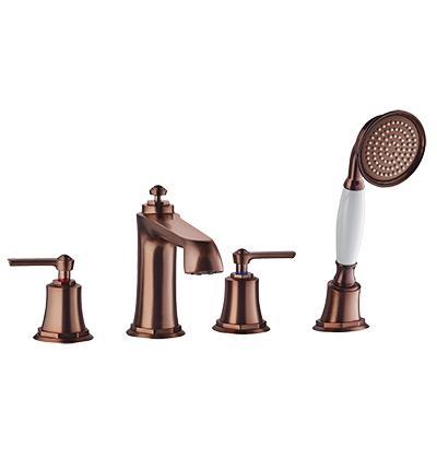 Maišytuvas montuojamas į vonios kraštą Omnires Armance (varis)