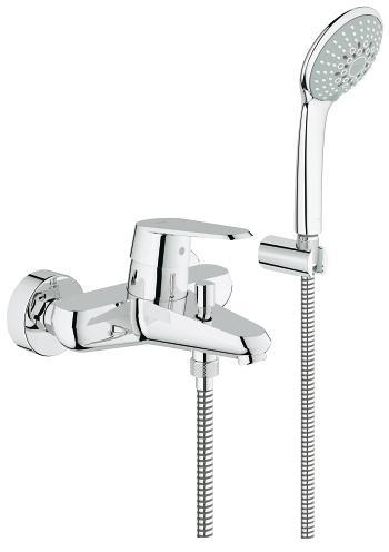 Vonios maišytuvas Grohe Eurodisc Cosmopolitan su rankiniu dušeliu