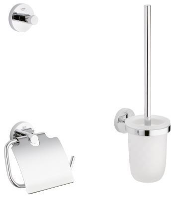 Vonios aksesuarų komplektas Grohe Essentials City 3in1