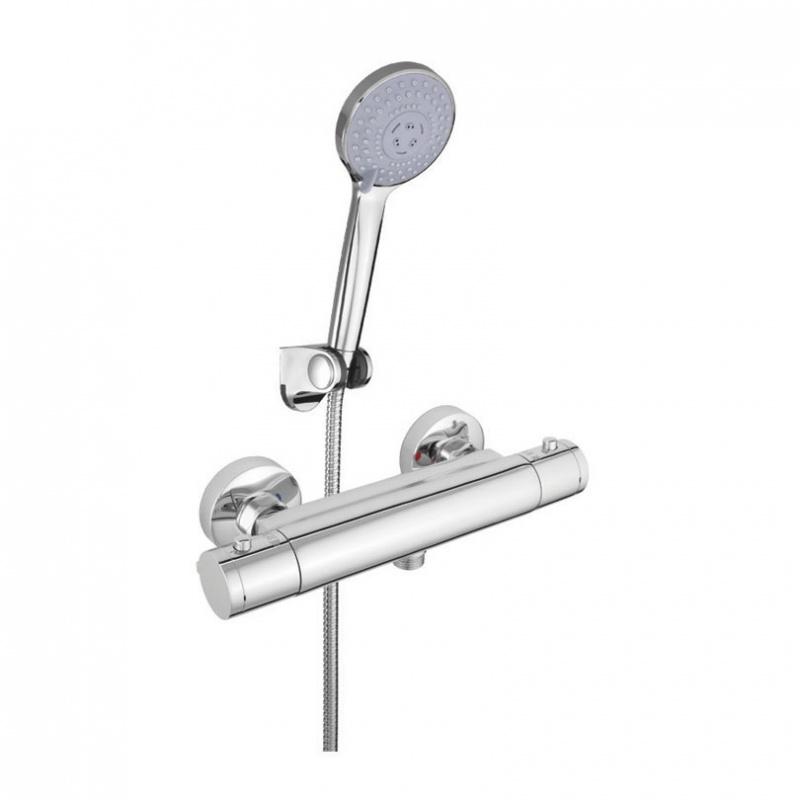 Sieninis vonios maišytuvas Rubineta Thermo-12/K