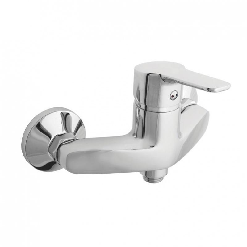 Sieninis vonios maišytuvas Rubineta Uno-12