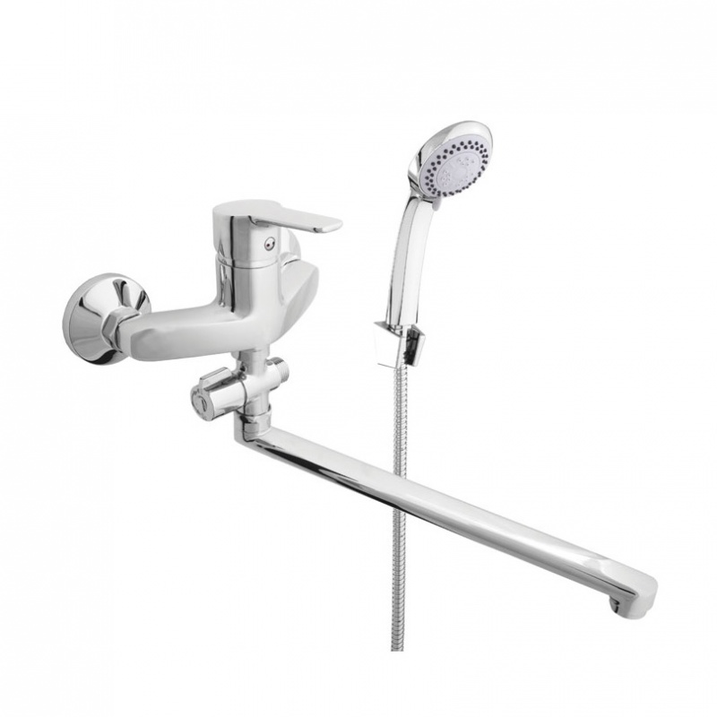 Sieninis vonios maišytuvas Rubineta Uno-12/C