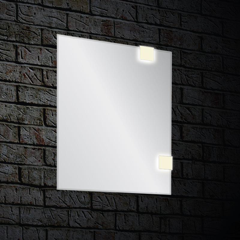 Зеркало Blu ANGOLO с LED подсветкой, 600