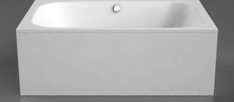 Akmens masės vonia LIBERO DUO VISPOOL