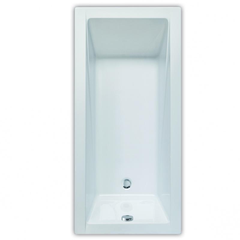 Stačiakampė akrilinė vonia Project Line Classic Pro
