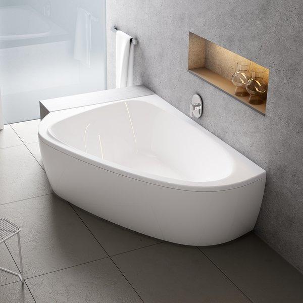 Asimentrinė akrilinė vonia Ravak LoveStory II