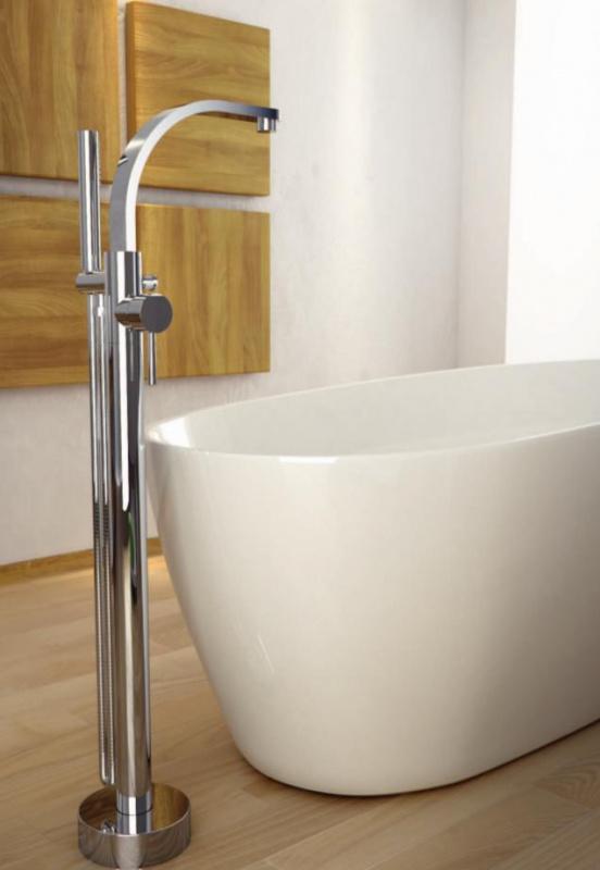 Maišytuvas voniai montuojamas į grindis Besco Decco