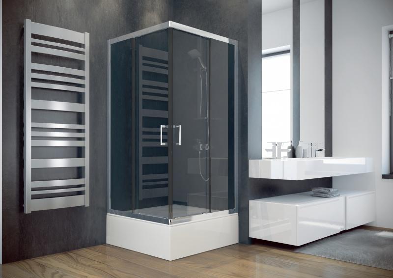 Kvadratinė dušo kabina Besco MODERN 165