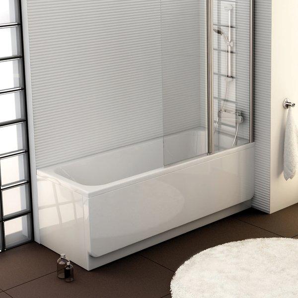 Stačiakampė akrilinė vonia Ravak Chrome