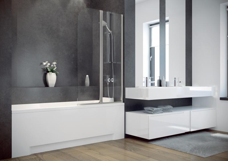 Vonios sienelė Besco Ambition 2, 80 cm