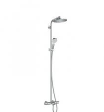 Termostatinė dušo sistema voniai Hansgrohe Crometta S 240 1jet su snapu