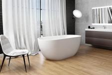 Akmens masės vonia Xonyx Halo Balteco 170