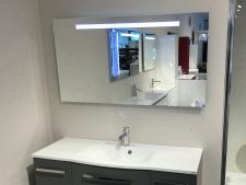 Vonios veidrodis su apšvietimu LED Blu BURGOS 1200, IŠPARDAVIMAS
