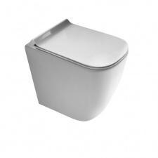 WC pastatomas Meg11 + dangtis soft close extra slim, Galassia