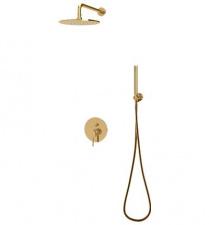 Potinkinė dušo sistema aukso spalvos OMNIRES Y