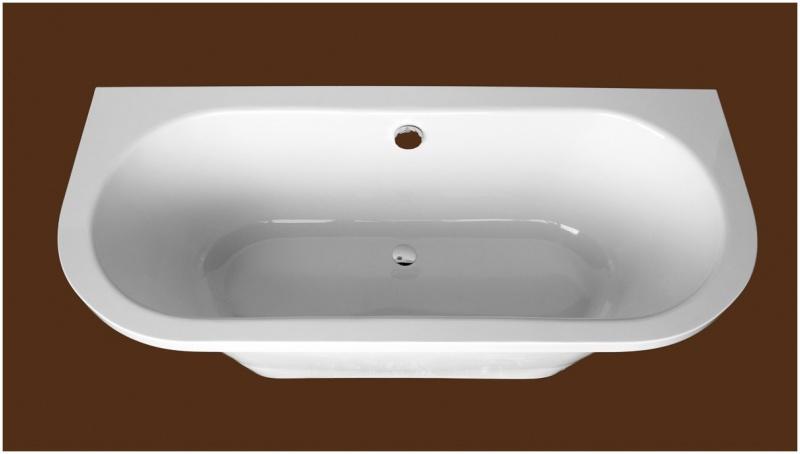 Stačiakampė akmens masė vonia Amanda Plus 1750 SPN