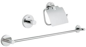 Vonios aksesuarų komplektas Grohe Essentials Guest 3in1